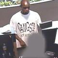 "Man in ""Gangsta"" T-shirt Robs Local Bank"