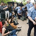 10 Protesters Arrested Outside Peabody Energy Shareholders Meeting in Clayton Hotel