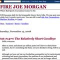 An Overdue Obituary for FireJoeMorgan.com