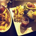 Guess Where I'm Eating This Burger and French Fries and Win $20 to La Tropicana Market & Cafe [Updated]!