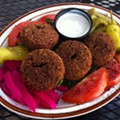 Guess Where I'm Eating this Crispy Falafel and Win a $10 Gift Certificate to Gioia's! [Updated With Winner!]