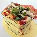 #87: Raw Vegetable Lasagna at Scape