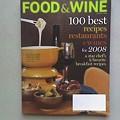 <i>Food & Wine</i>: January 2008