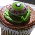 Guess Where I'm Getting Eyeballed By This Cupcake and Win $20 to Haveli Indian Restaurant [Updated]!
