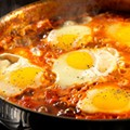 <em>The WiseJack Man's Cookbook</em>: Recipe for Shakshukah, or Eggs Poached in Spicy Tomato Sauce