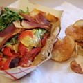Guess Where I'm Eating this Sandwich and Win $25 to Olympia Kebob House & Taverna [Updated]!