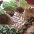 Guess Where I'm Eating this Falafel and Win a Gift Certificate to Five Guys Burgers and Fries! [Updated with Winner!]