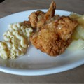 Guess Where I'm Eating this Chicken and Win a Gift Certificate to Porter's Fried Chicken [Updated with winner]!!
