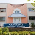 Govinda's Vegetarian Cuisine Temporarily Closed