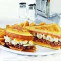 Denny's Tops Burger With Mac & Cheese, World Ends