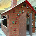 Hansel and Gretel Beware: St. Louis Casino Restaurants Get Life-Sized Gingerbread Houses