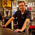 Miso on Meramec Bartender Mark Sandt Mixes...A Bacardi Torched Cherry Limeade!