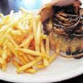 Guess Where I'm Eating This Burger -- and Win a Prize [Updated with <s>Clue</s> Answer!]