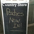 The Peaches! They're Early!