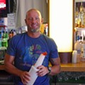 Double D Lounge Bartender Tanner Scott Mixes...A Creamsicle!