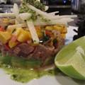 Jason Tilford of Milagro Modern Mexican: Recipe for Ceviche with Cilantro-Pepita Pesto and Mango Salsa