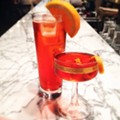 Campari Cocktails, the Bartender's After-Work Drink of Choice, at the Good Pie and Olio