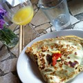 Guess Where I'm Eating this Veggie Crepe and Win $25 to Serendipity [Updated]!