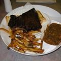 The Dish: A Half-Slab of Ribs at Smokin' Al's BBQ