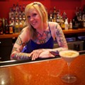 Flamingo Bowl Bartender Katie Gwaltney Mixes...A Spiced Chocolate Martini!