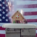 In Honor of Fourth of July, We Blew Up the <i>Riverfront Times</i> Gingerbread House
