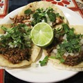 Try the Barbacoa Tacos at Tienda El Ranchito