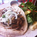 Guess Where I'm Eating this Chicken Shawarma and Win $25 to Graham's Grill and Bayou Bar [Updated]!