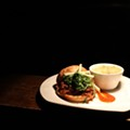 Jimmy Hippchen of the Crow's Nest: Pulled-Pork Sandwich with Cilantro Barbecue Sauce