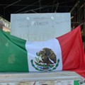 World Cuppage: Mexico 2 - France 0; Gringos and El Chicharito at Carniceria Latino Americana