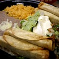 #99: Beef Taquitos Mexicanos at El Indio