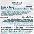 Coachella 2011 Lineup: Kanye West, Arcade Fire, Kings of Leon, The Strokes