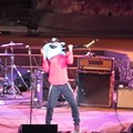 Rage Against the Machine's Tom Morello Plays Guitar With His Teeth For Ferguson