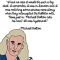Michael Bolton Talks Sex Appeal and Mullets, in Illustrated Form