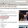 R.E.M. Hit NBC's <i>Today</i> Show -- Whose Expert Band Quiz isn't Exactly, Er, Correct