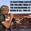 Kanye West Is a Fan of the Scottrade Center -- Oh, Wait...
