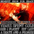 Benefit for Shagy Kennedy, Tomorrow and Wednesday, December 17 at Fubar