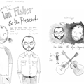 Ian Fisher and the Present in This Week's Print Feature: Interview Outtakes