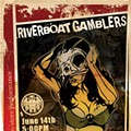 Show Flyer: The Riverboat Gamblers at Vintage Vinyl, Sunday, June 14