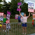 Photos: The Westboro Baptist Church's Lady Gaga Protest -- And the Counter-Protesters