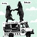 Show Flyer: Indie Rock Ice Cream Social at the Firebird, Friday, July 10