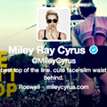 Twitter Litter: the 'Miley Twerks' Edition