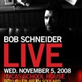 Bob Schneider at Lucas School House Tomorrow