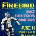 Listen and Go See: Live Electronic Act Buz at the Firebird, Saturday, June 19