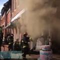 Firefighters Battle Blaze at the Sweet Divine in Soulard