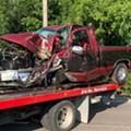 "Naked Missouri Man Says ""Good Morning"" to Neighbor, Steals Truck, Flips it"
