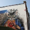 After Owner's Arrest, Holy Cat Mural Only Remnant of St. Louis  Underground Gallery