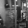 Shovel Smashed into Mauhaus Cat Café Storefront in Maplewood