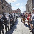 Horrifying Video Shows Cops March Over Old Woman in Downtown St.  Louis