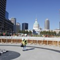 Gateway Arch Shows Off Progress on Visitor Center and Museum
