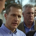 Greitens Boasts About Being Tough on Protests at Iowa Fundraiser
